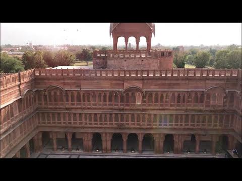 Laxmi Niwas Palace Bikaner Luxury Heritage Hotel Drone Video