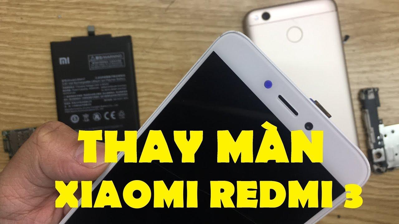 Thay màn hình Xiaomi Redmi 3 tại CareMobile