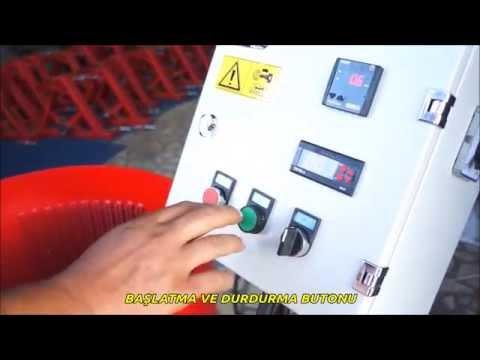Ceviz Soyma Makinasi Özellikleri - Devir Ayarli Model