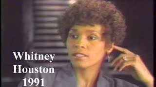 Whitney Houston 1991 Interview Talks Love Life Sexuality Rumors & Fame