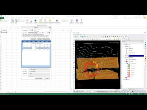 Open Pit Mine Design - in Excel with DesignXL