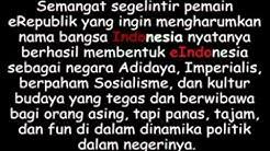 LAGU NASIONAL INDONESIA (Progressive Metal Version)  - Durasi: 4:17.