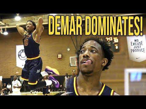 Demar Derozan Back At It Again COOKING FOOLS at Drew League! Drops 41! Week 7 FULL HIGHLIGHTS