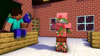 Monster School - RIP : BabySitter - Challenge Minecraft Animation