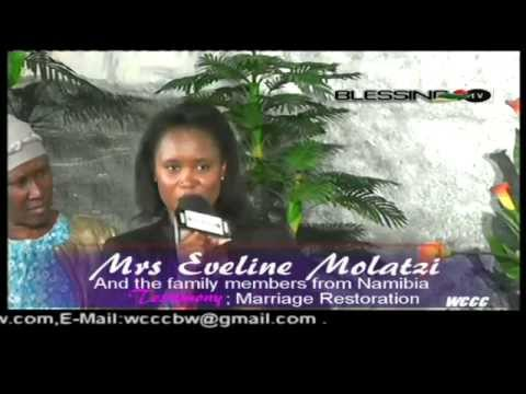 Marriage Restoration || all the way from Namibia.