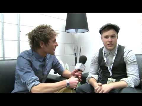 Olly Murs Backstage Interview | BRIT Awards 2012