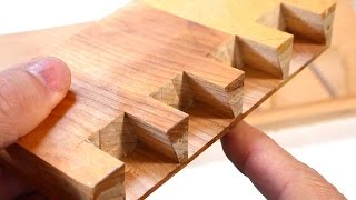 Cheating at hand cut dovetails