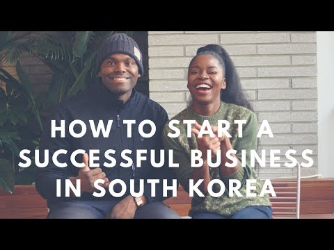 How To Start A Successful Business while in South Korea | theSeoulChic TV