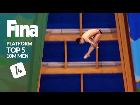 Top 5 - Men's 10m | FINA/NVC Diving World Series - Kazan 2017