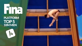 Top 5 - Men's 10m | FINA/NVC Diving World Series - Kazan 2017