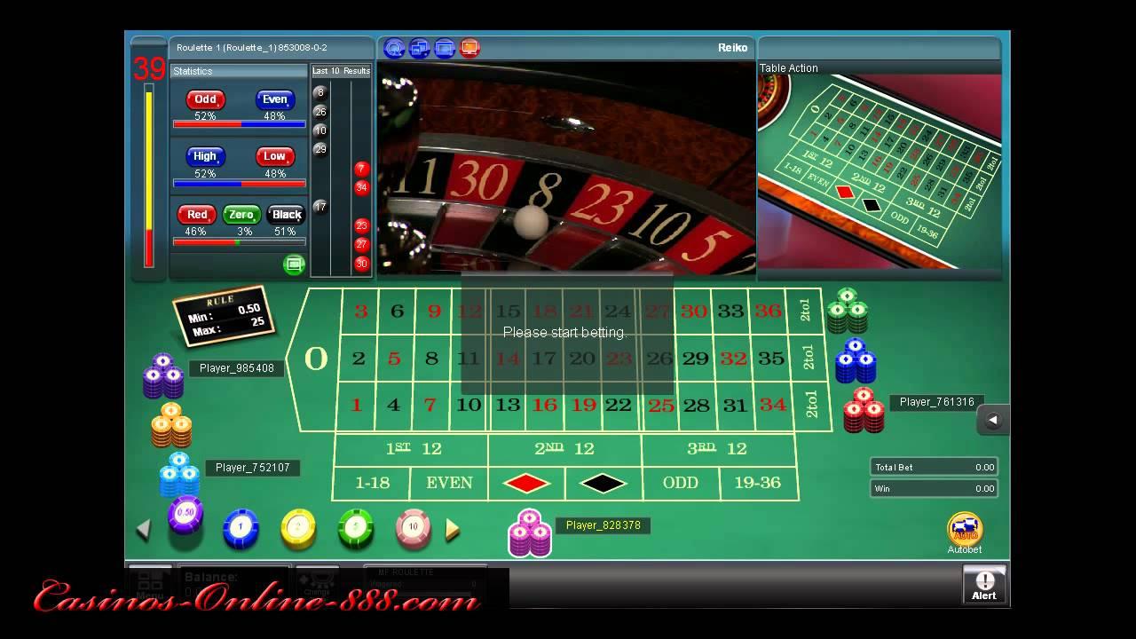 888 Live Casino Login