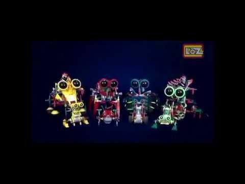 Конструктор loz серия роботы