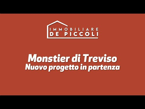 Un nuovo progetto in partenza a Monastier di Treviso