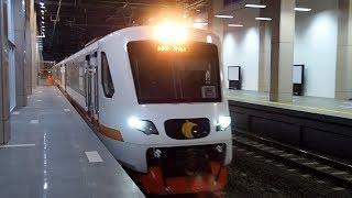 2018/05/17 【ジャカルタ 空港鉄道】 EA203形 TS4編成 BNIシティ駅 【回送】