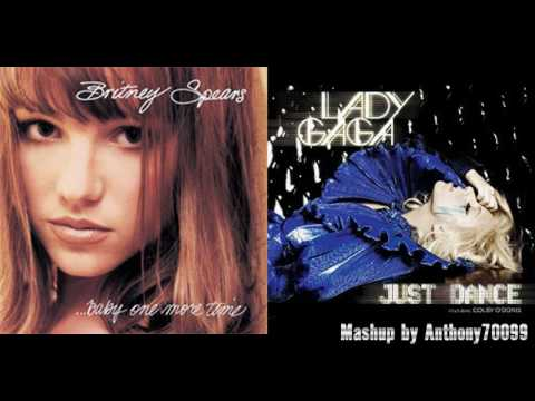 Lady Gaga vs. Britney Spears - Just Dance vs. Baby One More Time (Mashup Pitched)