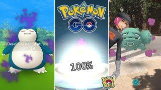 MI PRIMER 100% PURIFICADO EN LA INVASIÓN MUNDIAL DEL TEAM GO ROCKET! [Pokémon GO-davidpetit]