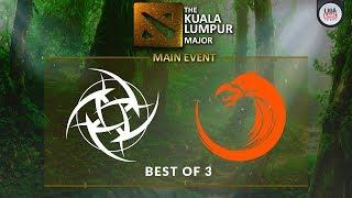 [DOTA 2] Ninja In Pijamas VS TNC.Predator (BO3) - The KL Major Playoffs Day 5