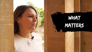 What Matters - By Samantha Harper Robins [as seen on BBC Upload]