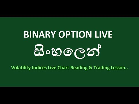 Binary Option Live Market Reading & Trading ( Volatility Index ) NEW