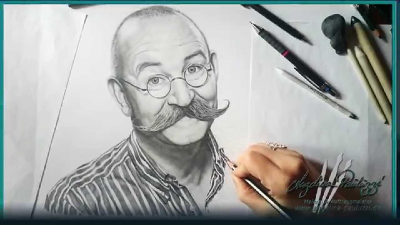 Horst Lichter (pencil drawing)