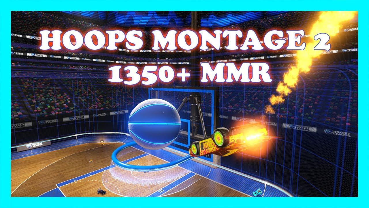 Rocket League Hoops Montage 2 | 1350+ mmr (Grand Champion)