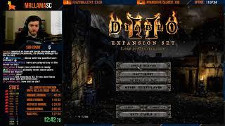 Hell HC Druid Speedrun - WHAT A RUN