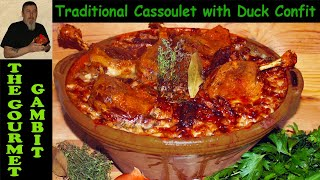 Traditional Cassoulet with Duck Confit, Toulouse Sausage and Pork Belly