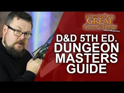 Ultimate Guide to the DnD5e Dungeon Master's Guide
