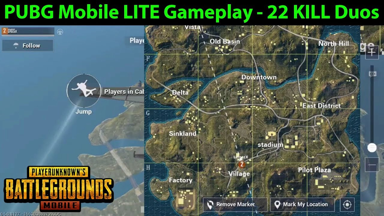 Pubg Mobile Lite Indirmeye Hazır: PUBG Mobile LITE Gameplay - Duos 22 Total Kills