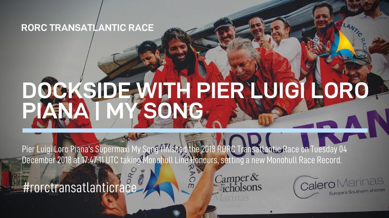 2018 RORC TRANSATLANTIC RACE Pier Luigi Loro Piana