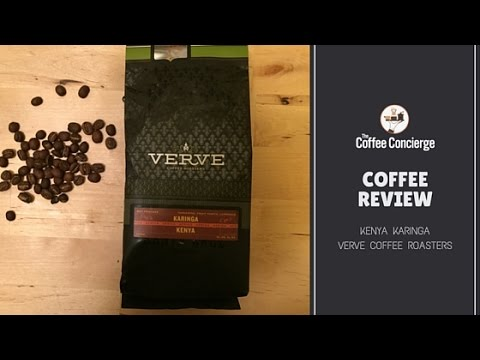 Coffee Review: Verve Coffee Roasters - Kenya Karinga