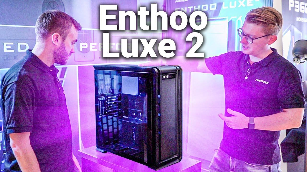 Phanteks shows off Enthoo Luxe 2 and Eclipse P360X, P400A | bit-tech net