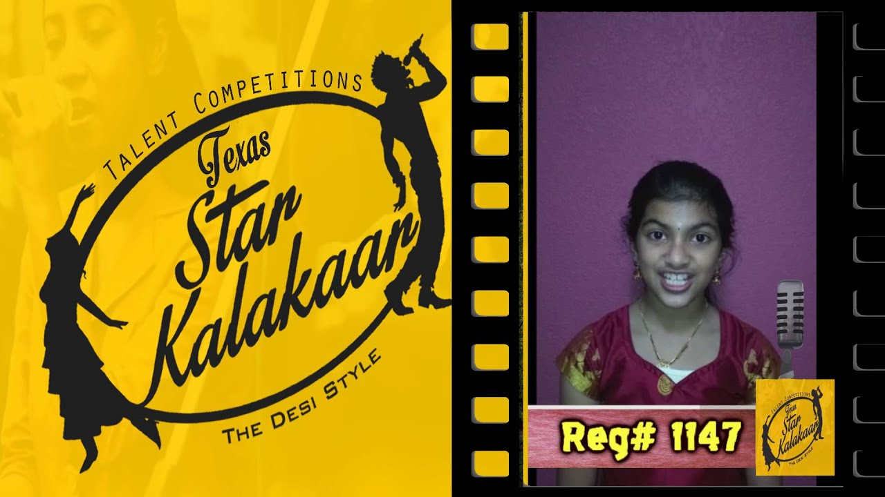 Texas Star Kalakaar 2016 - Registration No #1147