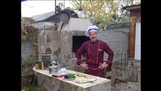 Мужская кухня. Грибы и картофель на гриле.