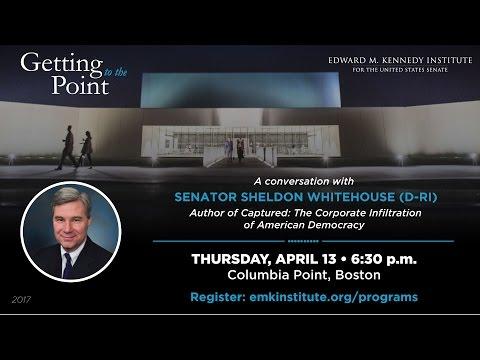 Getting to the Point with Senator Sheldon Whitehouse