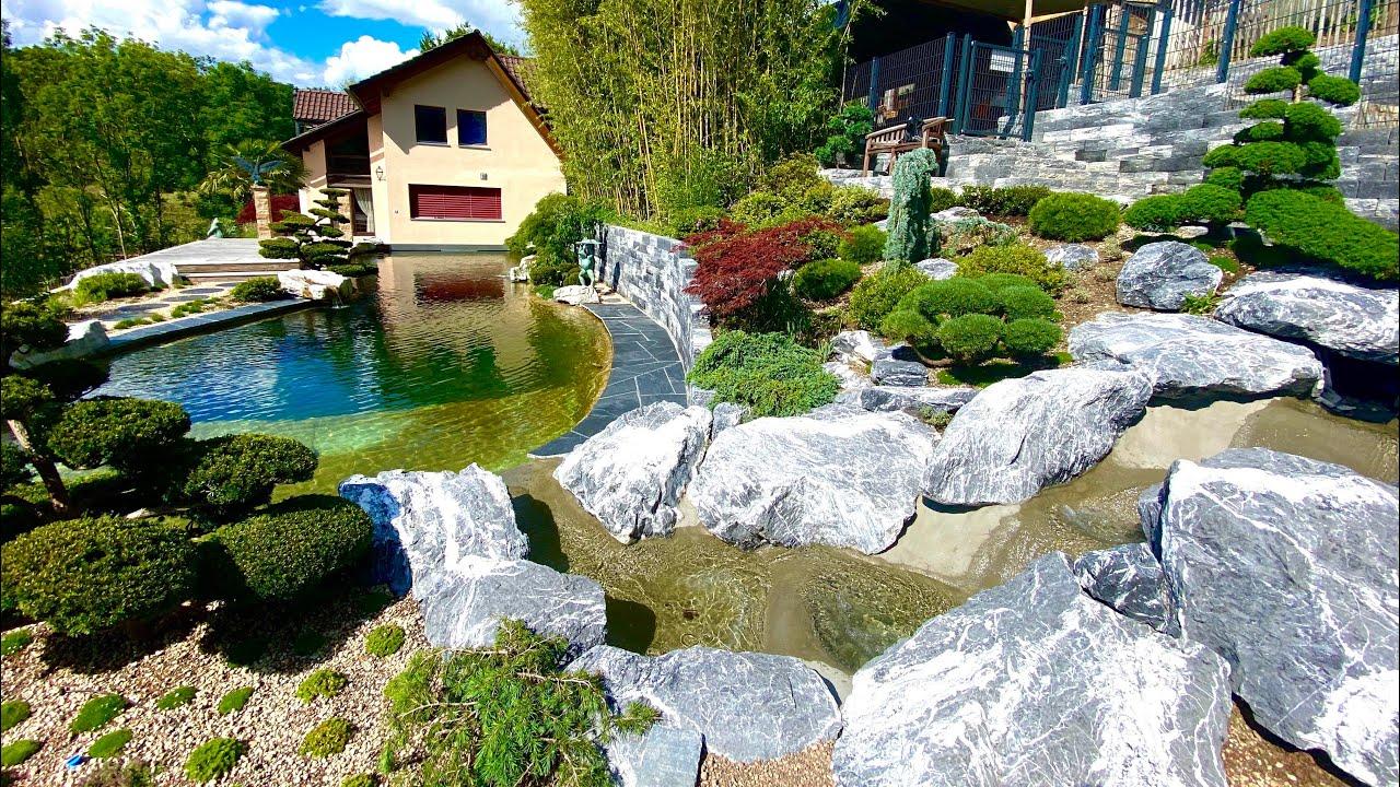 32,000 Gallon Koi Pond (Aquascaped) - 210 CM FISH?!