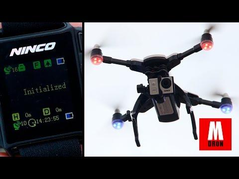 REVIEW NINCO GUARDIAN EN ESPAÑOL   Analisis drone con camara 4k y GPS controlado por reloj
