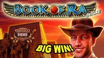 BIG WIN on Book of Ra Slot - £2 Bet