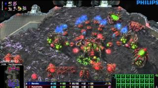 ZvZ - Nerchio vs Dana - Vani - Starcraft 2 HD