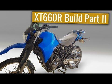 Yamaha XT660R Adventure bike build - Part II