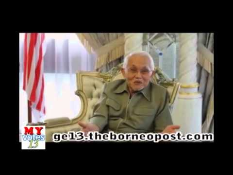 Interview with Sarawak CM Pehin Sri Taib Mahmud - Part 1