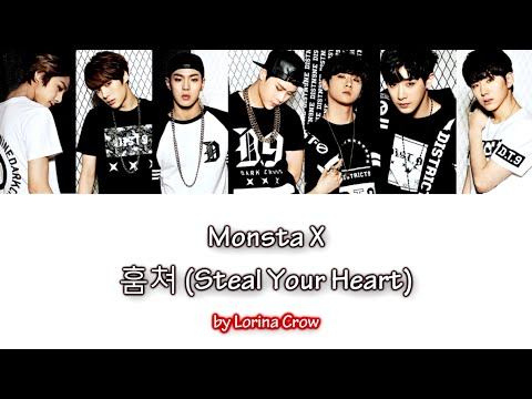 Monsta X - 훔쳐 (Steal Your Heart) [color coded han/rom/hun sub]