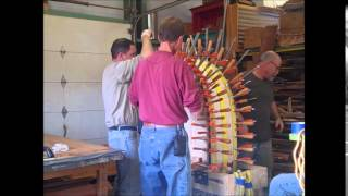 Mesquite Furniture: Making The Walker Entry Table Curves - Lou Quallenberg Studios