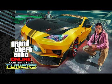 GTA Online - Bande annonce de la mise à jour Los Santos Tuners