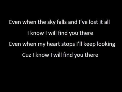 Find You There - We The Kings *LYRICS*