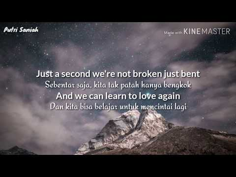 Pink - Just Give Me a Reason  | Lirik Terjemahan Indonesia |