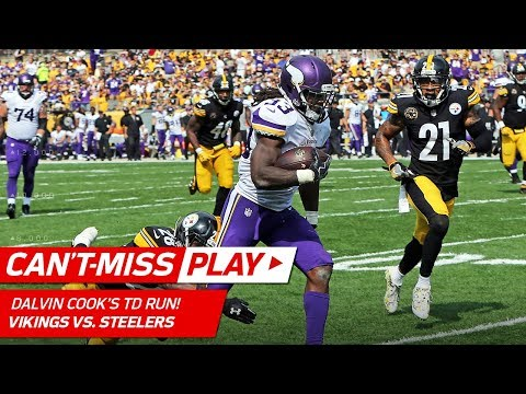 Dalvin Cook's Sick Run Sets Up Fullback Dive TD!   Can't-Miss Play   NFL Wk 2 Highlights