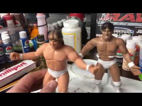 WWF LJN Strikeforce Repaint