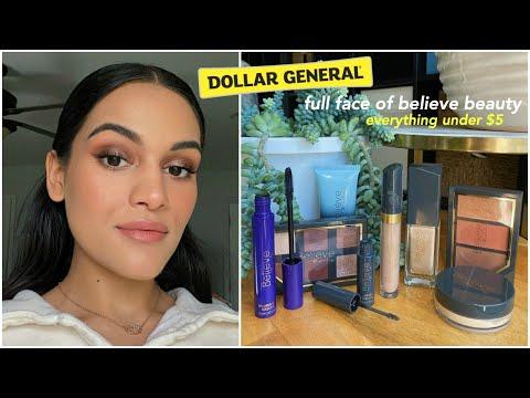 Dollar General Believe Beauty First Impressions // Impressive Wear Test *all Under $5*