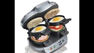 Hamilton Beach Breakfast Sandwich Maker Review